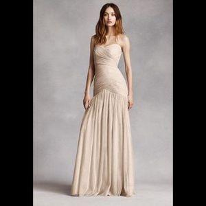 White by Vera Wang Bridesmaid Dress